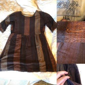 Ace & Jig s tobacco rosemary dress